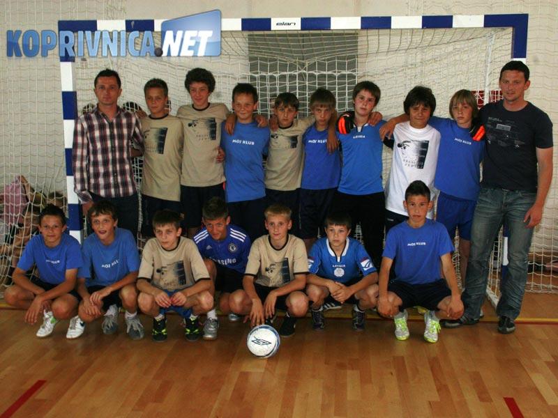 Učenici koje je Branimir trenirao odigrali su malonogometnu utakmicu // foto: Ivan Brkić