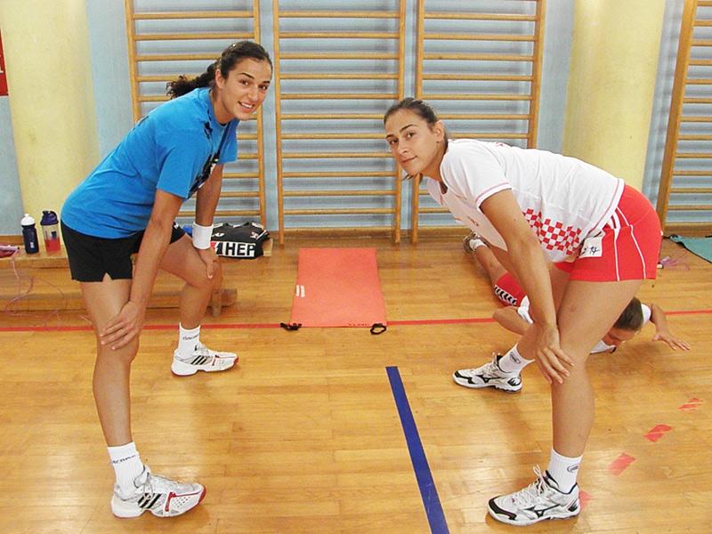 Sanja Damnjanović i Ivana Petković