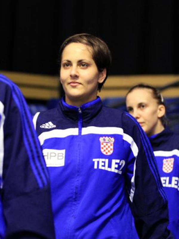 Ivana Dragišić prije utakmice sa Švedskom