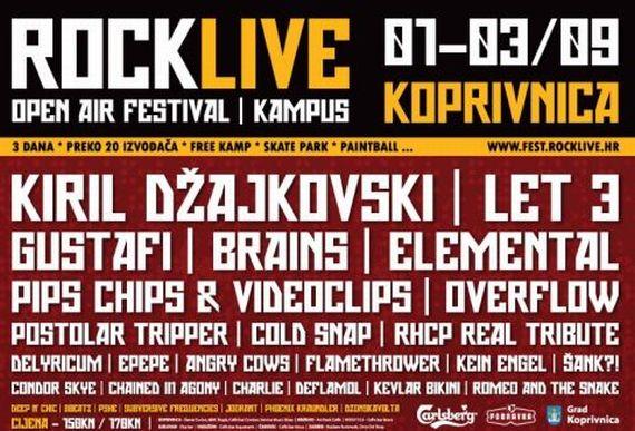 RockLive Festival okupio je brojna glazbeno poznata imena