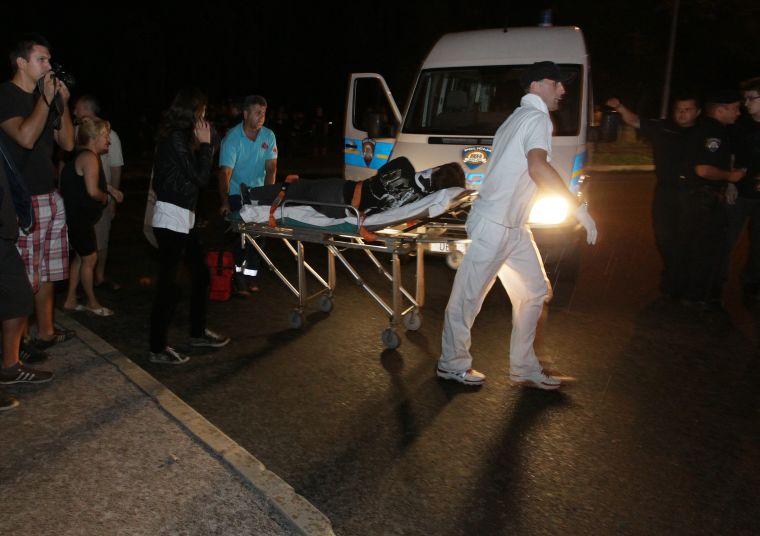 Hitna je na mjesto nesreće stigla svega nekoliko minuta nakon sudara // foto: Koprivnica.net