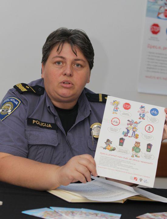 Mirela Škvorc, voditeljica Pododsjeka za sigurnost cestovnog prometa // foto: Koprivnica.net