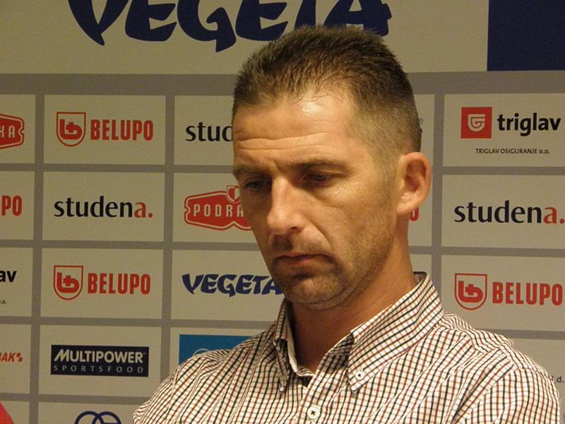 Trener Podravke Vegete Neven Hrupec // snimio Ivo Čičin-Mašansker, www.rk-podravka.hr