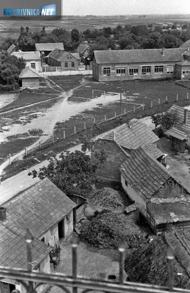 Panorama podravskog sela šezdesetih