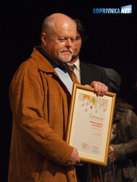 Ludwig Bauer - dobitnik nagrade -Fran Galović- // foto: Zoran Stupar