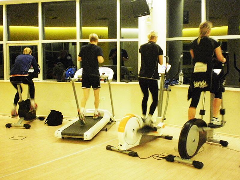 Razgibavanje u fitnesu na Cerinama // Foto Manuela Barić, Bazeni Cerine