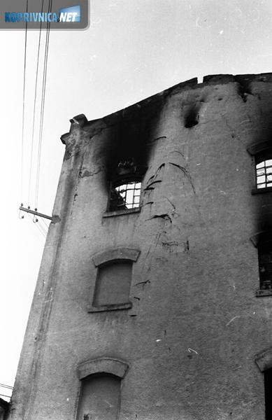 Požar u mlinu