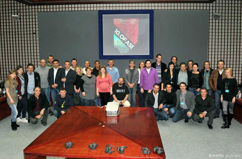 Članovi ASEG-a na kraju kongresa
