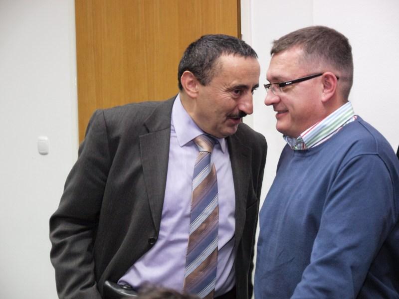 Milinković i Felak komentiraju rezultate / Foto: Zoran Stupar