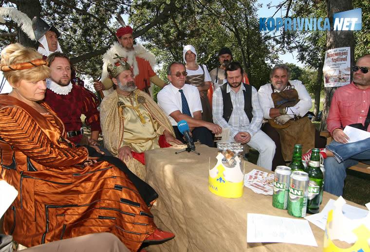 Dragutin Jeđud u vrijeme kad je bio predsjednik Turističke zajednice Koprivnice / Foto: arhiva