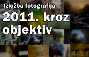"Izložba ""2011. kroz objektiv"" u Domu mladih"