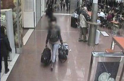 Nadzorna kamera u budimpeštanskoj zračnoj luci / Foto: mup.hr