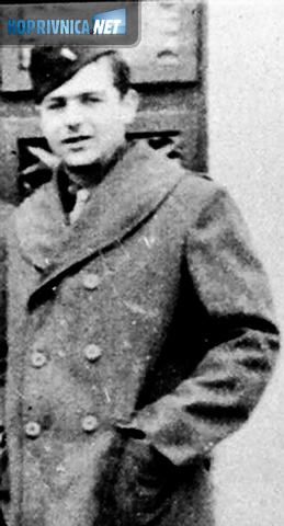 Merritt u američkoj zrakoplovnoj uniformi (preslik fotografije)