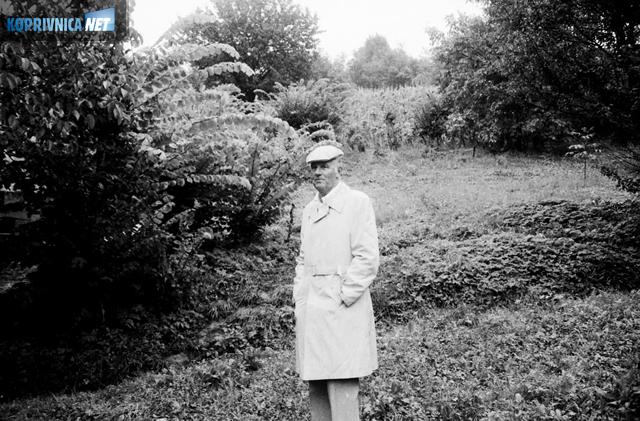 John Merritt 1986. godine na mjestu događaja iz rata