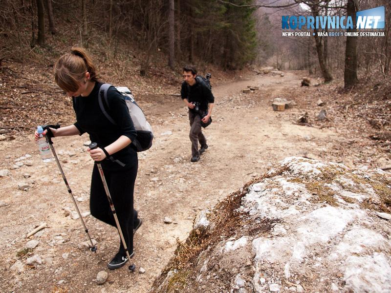Put nije težak, ali dva sata pješačenja uzbrdo nije ni za podcijeniti / Foto: Zoran Stupar