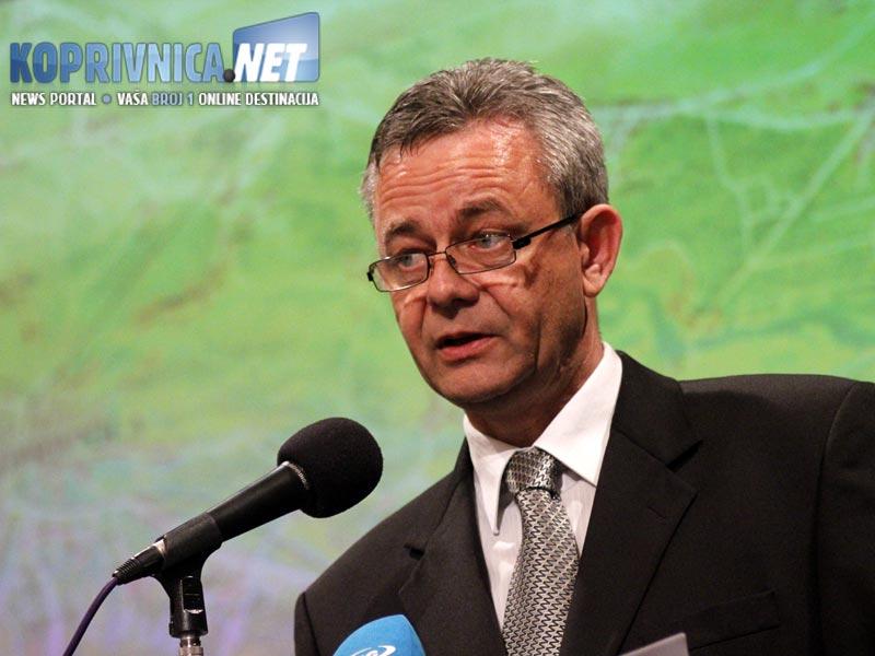 Župan Koren osvrnuo se na ostvarene i planirane projekte / Foto: Ivan Brkić
