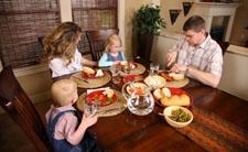 Obitelji koje jedu zajedno su zdravije