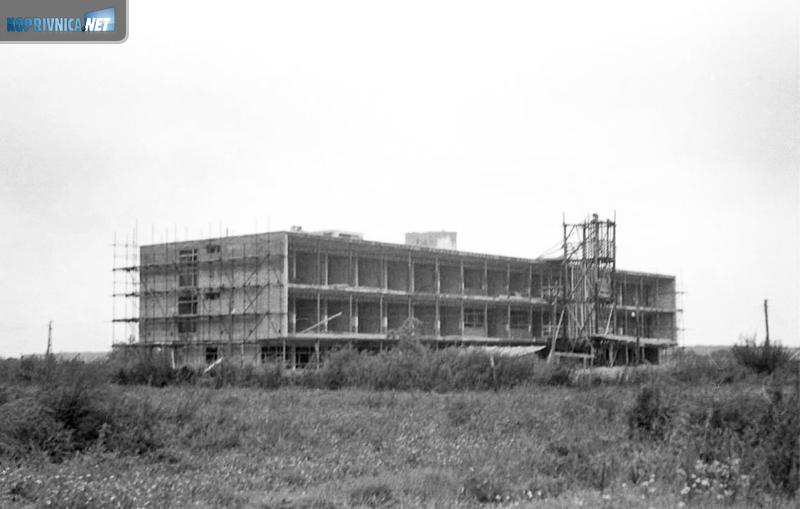 Izgradnja TBC odjela na pustoj livadi