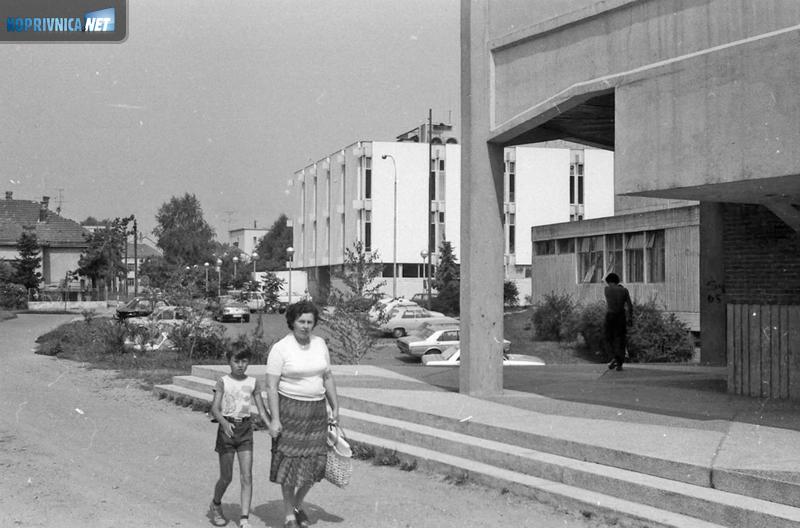 Robna kuća ''Izvora'' i kuglana, uz hotel, bile su centar života početkom osamdesetih godina