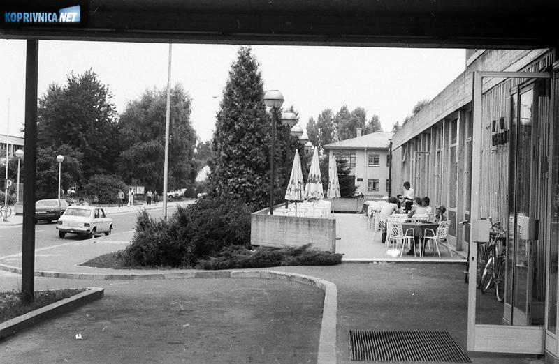 Sedamdesetih i početkom osamdesetih godina samo je hotel smio imati terasu u gradu