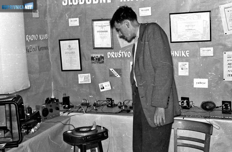 Ivan Žauhar Joe, snimljen na gimnazijskoj godišnjoj izložbi početkom šezdesetih, bio je tehničar u drugom pokušaju