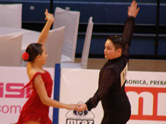 Plesni par Ritma - Ana Ciglar i Erik Lugomerić
