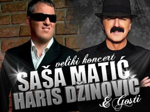 Haris Džinović i Saša Matić