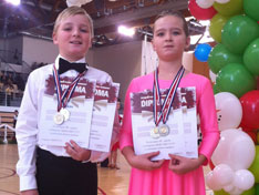 Filip i Ivana Obran s medaljama i priznanjima