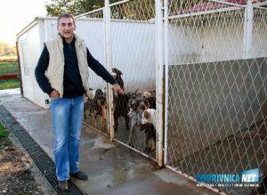 Veterinar Ratimir Juršetić sa psima // foto: Mario Kos