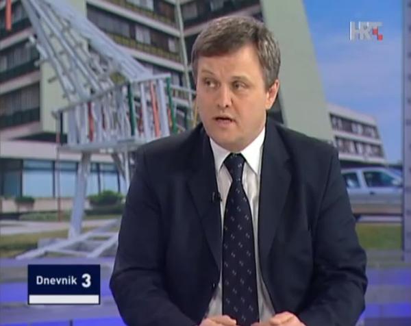 Zvonimir Mršić gostovao je u jučerašnjem dneviku HTV-a // foto: screenshot HTV