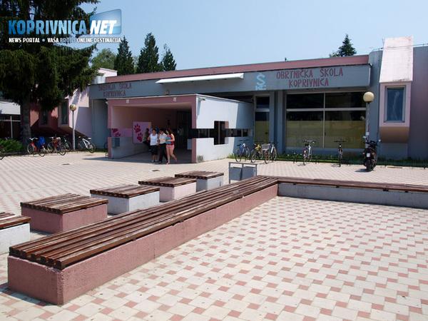 Krajem prošle godine započela je rekonstrukcija koprivničke Srednje škole u vrijednosti 2,7 milijuna kuna