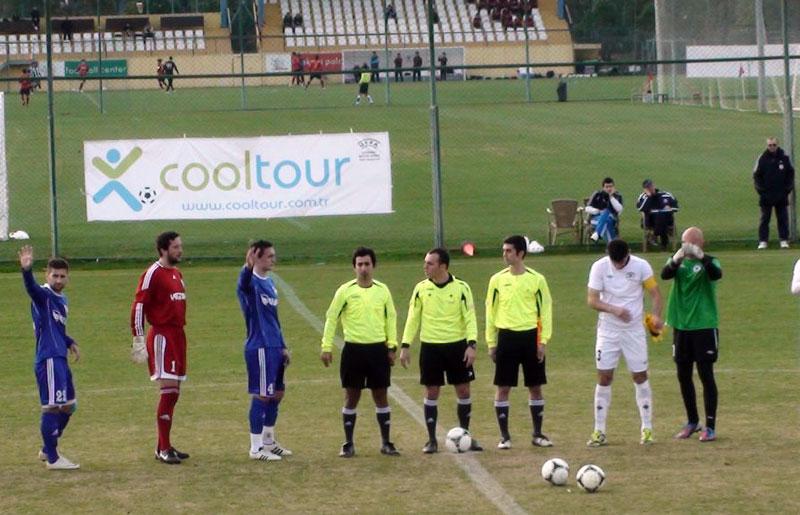 Pozdrav uoči utakmice // Foto: NK Slaven Belupo