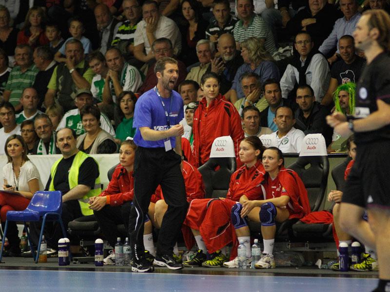 Hrupec na utakmici s Györom u Mađarskoj