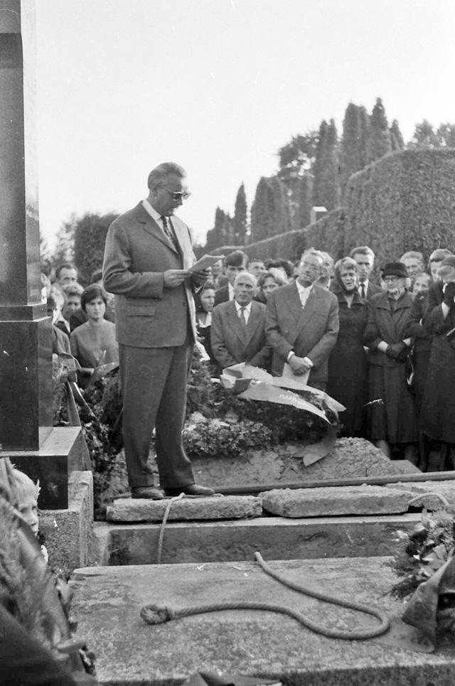Dr. Rubeša oprašta se od pokojnog dra Brozovića