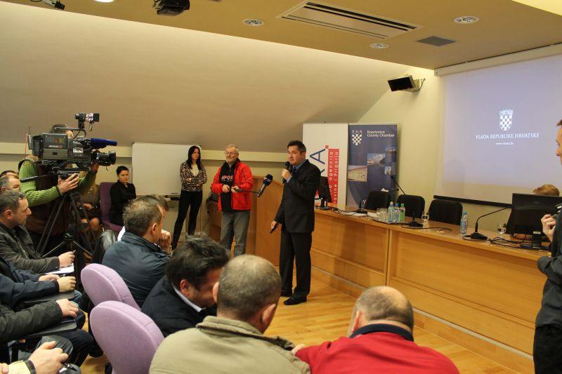 Gost prezentacije bio je Dražen Pros