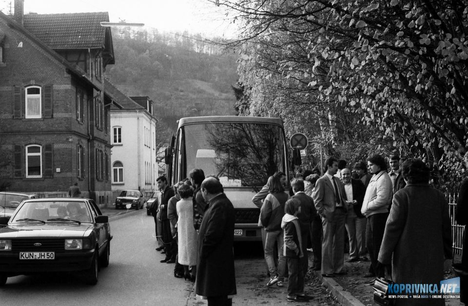 Dolazak delegacije 1982.