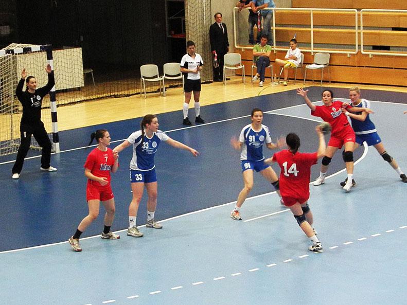 Detalj s utakmice Podravka Lino - Lokomotiva u polufinalu Kupa // Foto: RK Podravka - Ivo Čičin-Mašansker