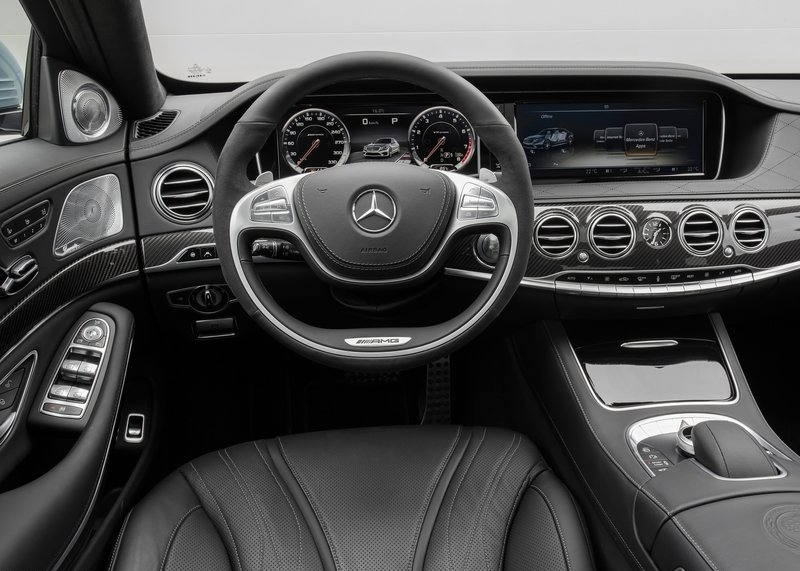 Mercedes-Benz S63 AMG (2014) interijer