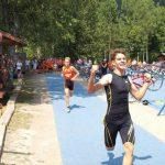 Denis Pleše na cilju utrke u Fužinama