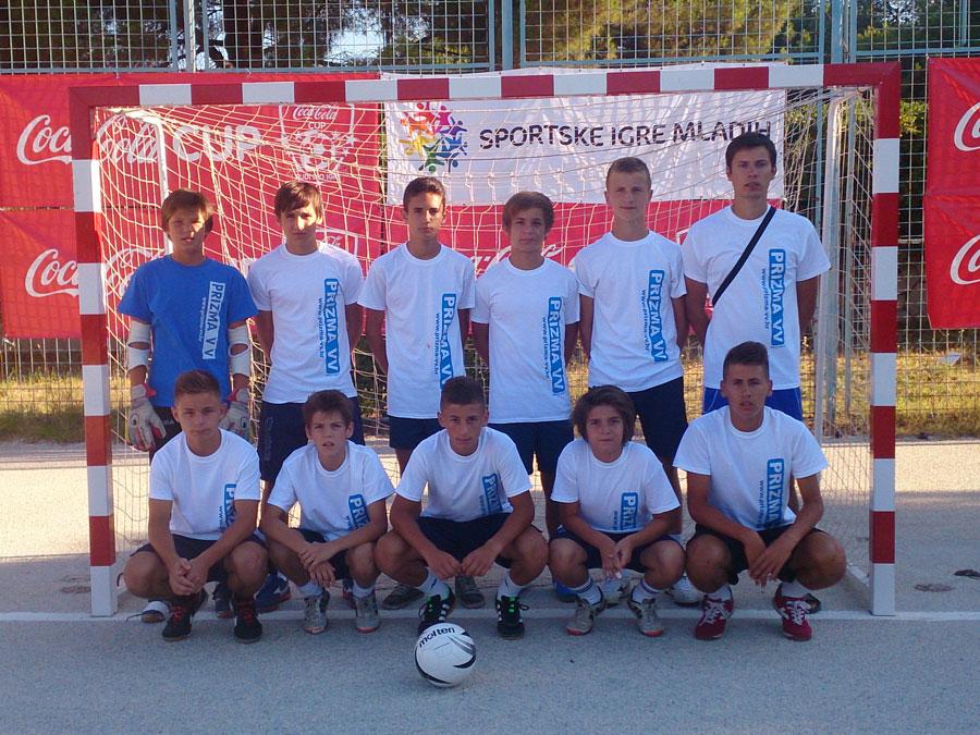 Prizma VV na terenu Sportskih igara mladih u Splitu