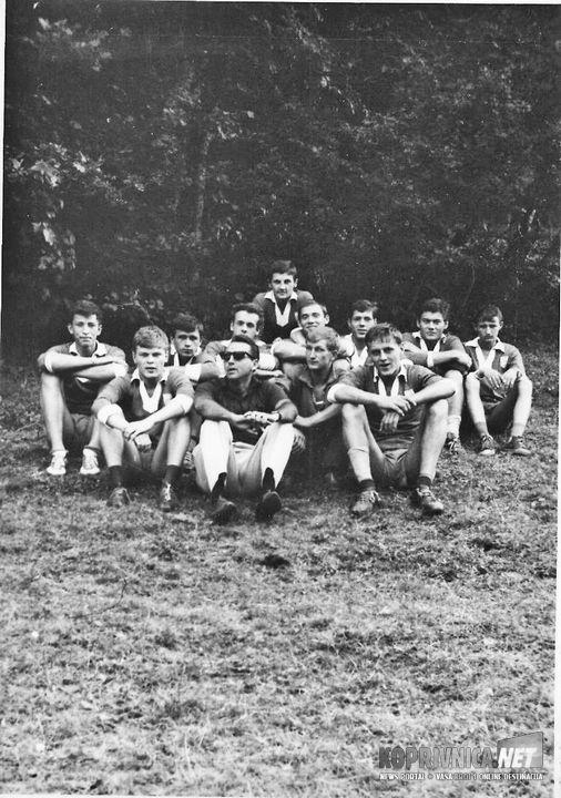 Omladinska Hrvatske Kolašin 1964.