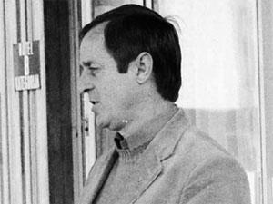 Josip Samaržija snimljen sedamdesetih godina // Foto: Ivo Čičin-Mašansker