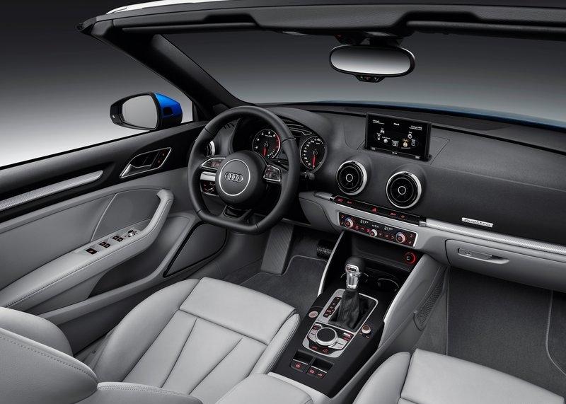 Audi A3 Cabriolet (2014) interijer