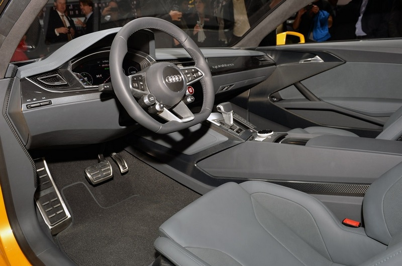 Audi Sport quattro Concept (2013) - interijer