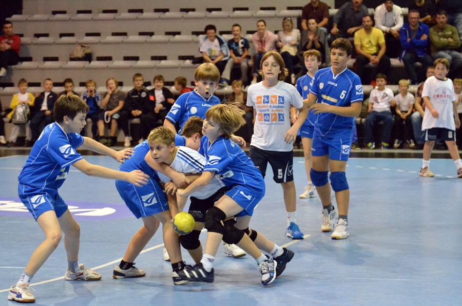 Mladi rukometaši odigrali su niz zanimljivih utakmica // Foto: Mirko Lukavski - Glas Podravine