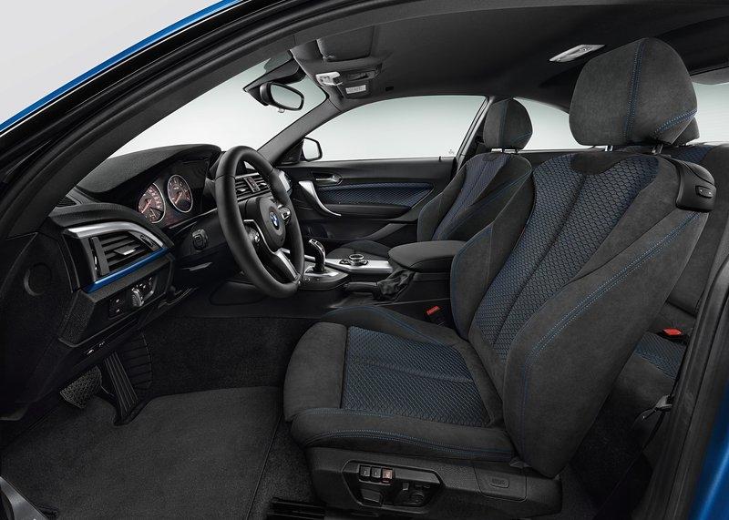 BMW serije 2 Coupe (2014) interijer