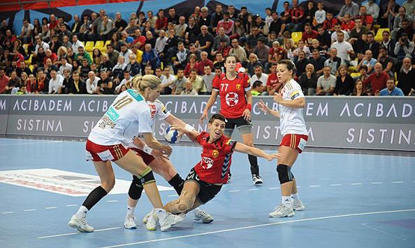 Detalj s utakmice Vardar - Larvik // Foto: EHF