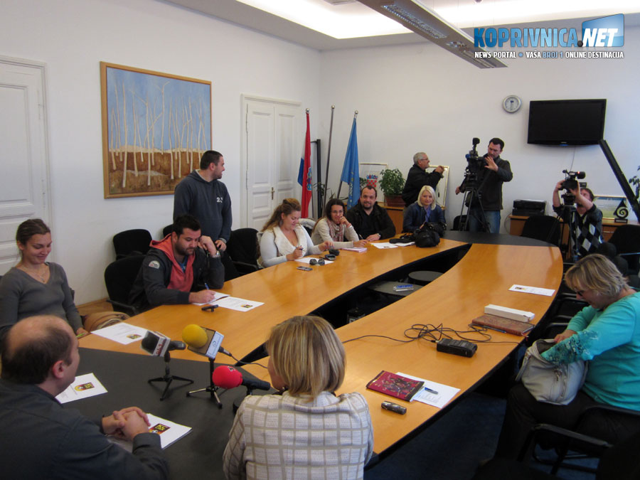 Predstavnici medija odazvali su se u velikom broju // Foto: Koprivnica.net