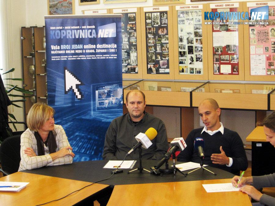 Konferencija za novinare održana je u prostoriji gdje je izložena čuvena zbirka dr. Žarka Dolinara // Foto: Koprivnica.net