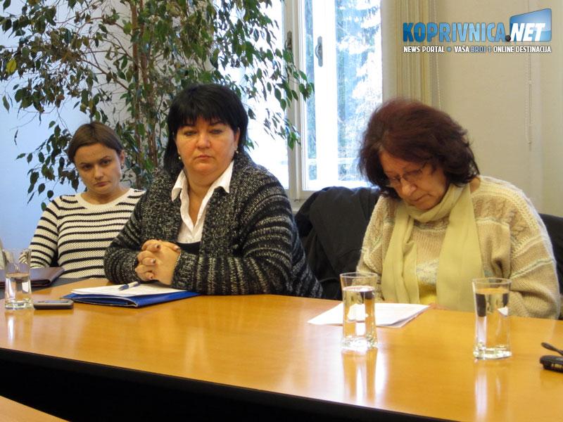 Predsjednice braniteljskih udruga protive se izabranom radu // Foto: Koprivnica.net